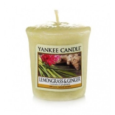 Sampler Lemongrass and Ginger Yankee Candle