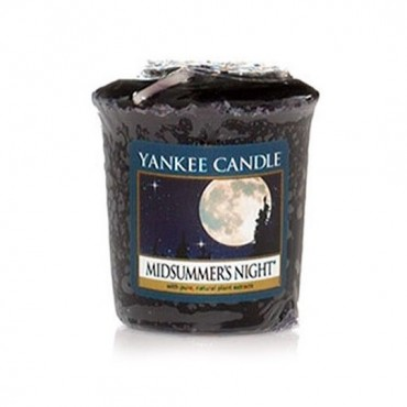Sampler Midsummers night Yankee Candle