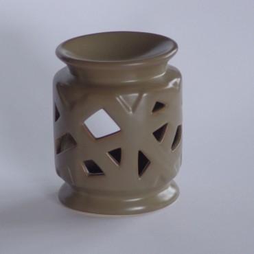 Kominek ceramiczny JT120038 bury
