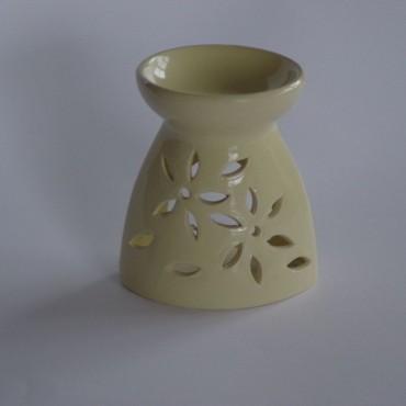Kominek ceramiczny A4423 żółty