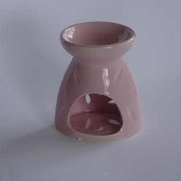 Kominek ceramiczny A4423 różowy