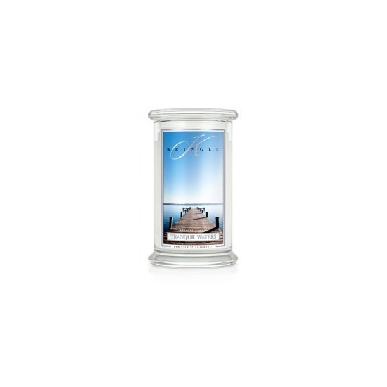 Duża Świeca Tranquil Waters Kringle Candle