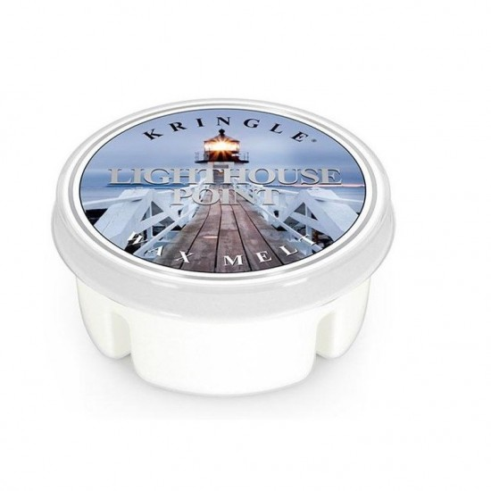 Wosk Light House Point Kringle Candle
