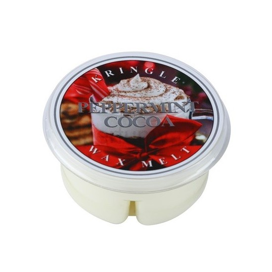 Wosk Peppermint Cocoa Kringle Candle