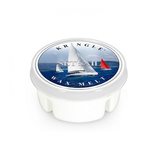 Wosk Set Sail Kringle Candle