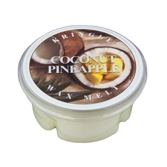 Wosk Coconut Pineapple Kringle Candle