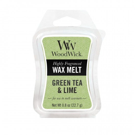 Wosk zapachowy Green Tea & Lime WoodWick