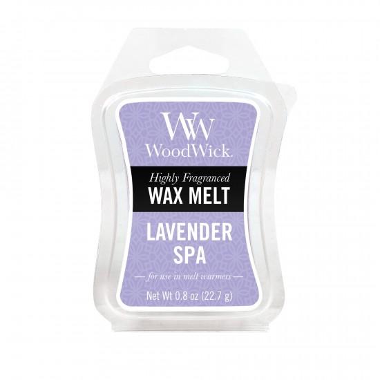 Wosk zapachowy Lavender Spa WoodWick