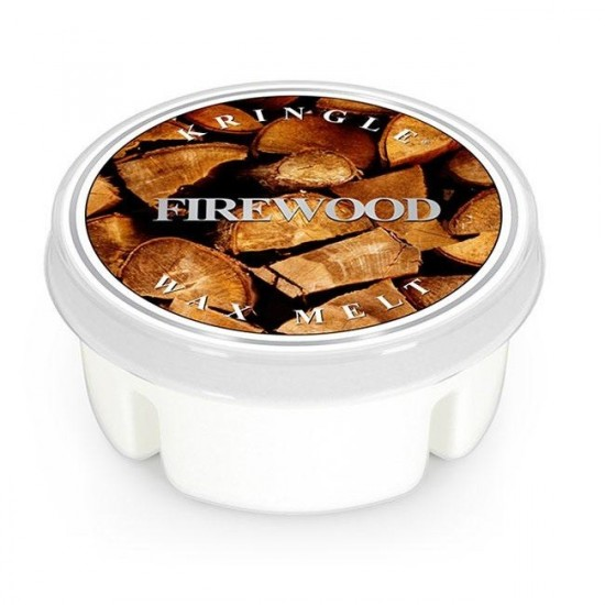 Wosk Firewood Kringle Candle
