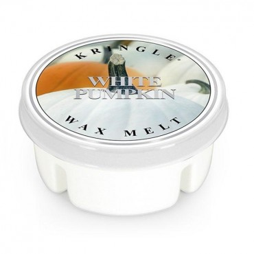 Wosk White Pumpkin Kringle Candle