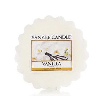 Wosk Vanilla Yankee Candle