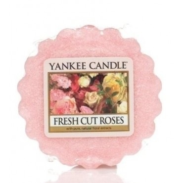 Wosk Fresh Cut Roses Yankee Candle