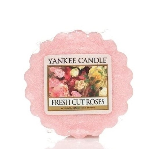 Wosk Fresh Cut Roses Yankee Candle
