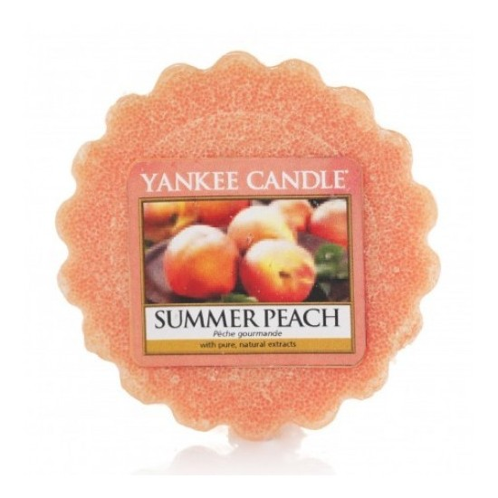 Wosk Summer Peach Yankee Candle