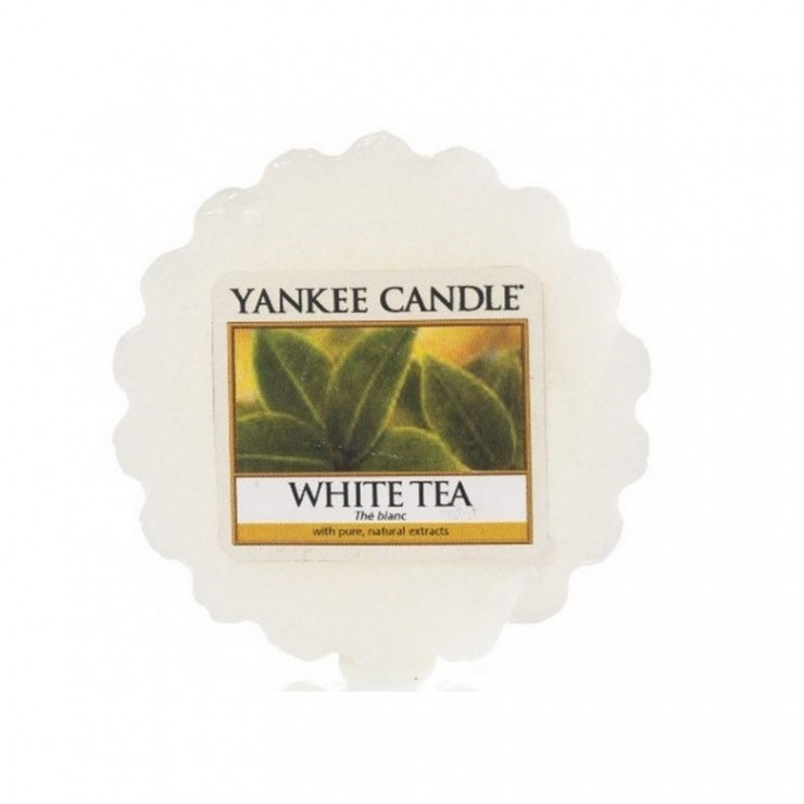 Wosk White Tea Yankee Candle