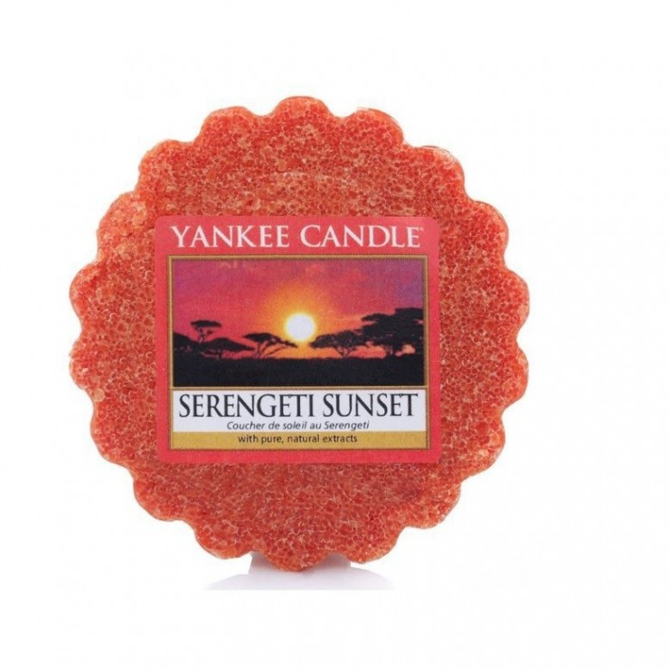 Wosk Serengeti Sunset Yankee Candle