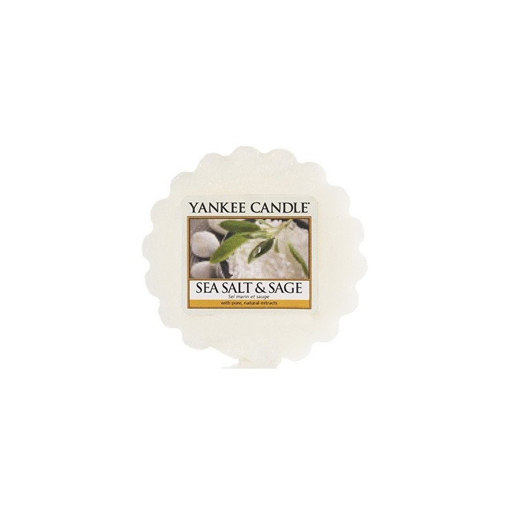 Wosk Sea Salt & Sage Yankee Candle