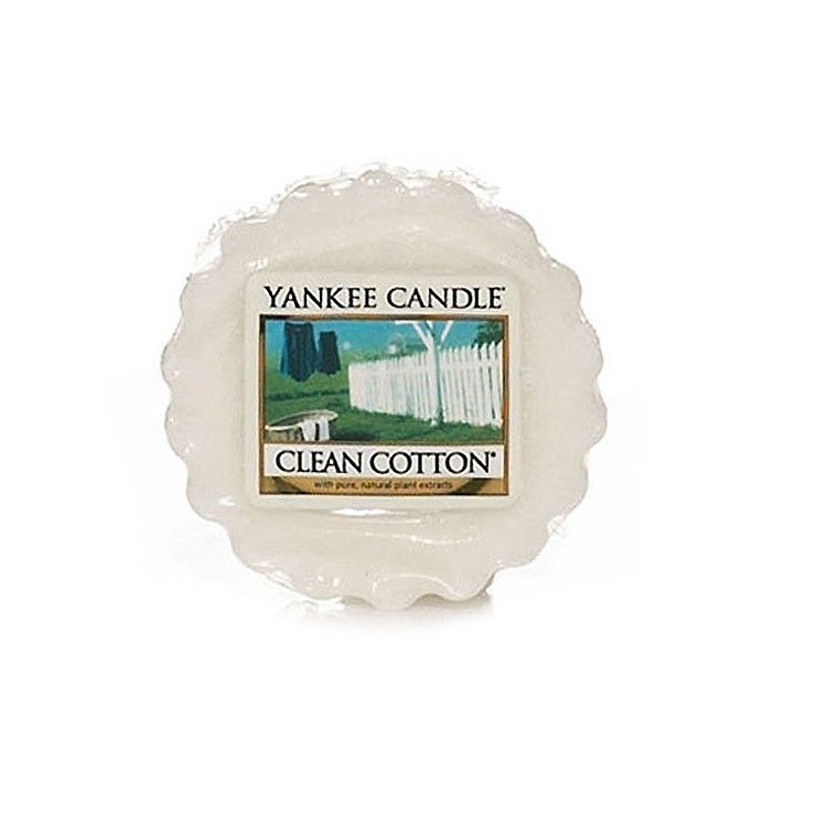 Wosk Clean Cotton Yankee Candle