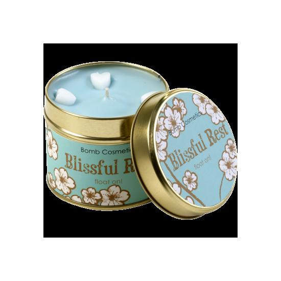 Świeca zapachowa w puszce BŁOGI ODPOCZYNEK Bomb Cosmetics