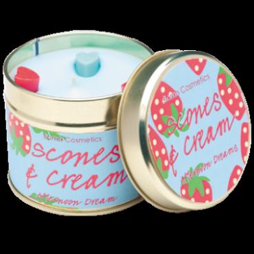 Świeca zapachowa w puszce DROŻDŻÓWKI Z DŻEMEM Bomb Cosmetics