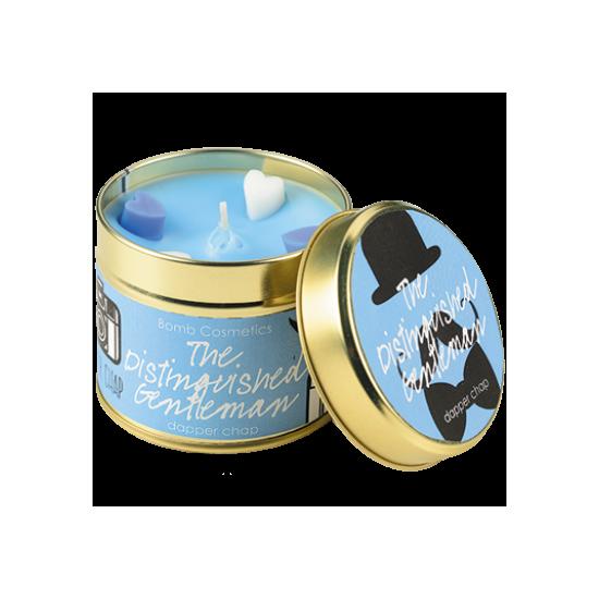 Świeca zapachowa w puszce DYSTYNGOWANY DŻENTELMEN Bomb Cosmetics