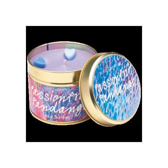 Świeca zapachowa w puszce KUSZĄCA MARAKUJA Bomb Cosmetics
