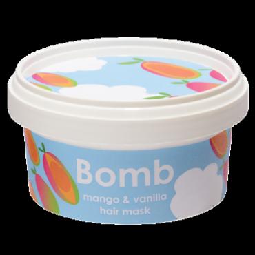 Maseczka do włosów MANGO & VANILLA z olejem Brassica Bomb Cosmetics