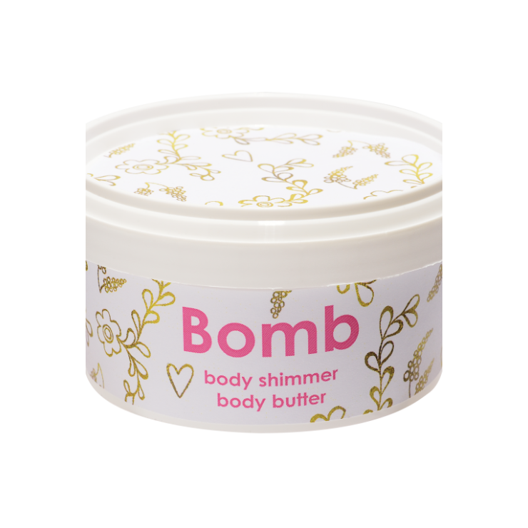 Masło do ciała z 30% Shea SUBTELNY BLASK z połyskiem Bomb Cosmetics