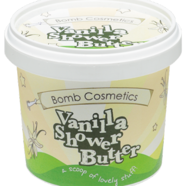 Myjące masło pod prysznic LODY WANILIOWE Bomb Cosmetics