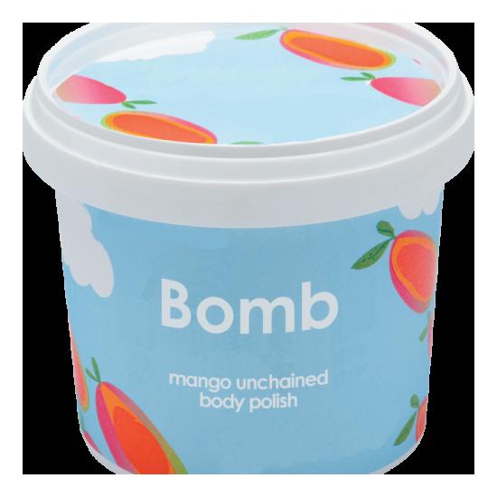 Peeling pod prysznic z masłem shea KOKTAJL Z MANGO Bomb Cosmetics