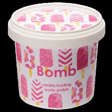 Peeling pod prysznic z masłem shea WANILIOWY LUKIER Bomb Cosmetics