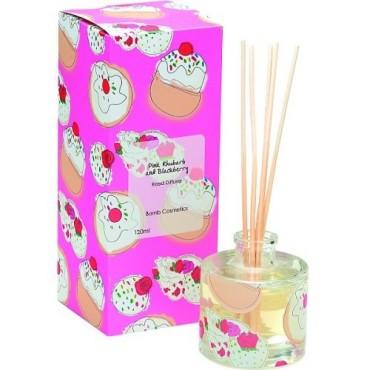 Dyfuzor zapachowy PINK RHUBARB & BLACKBERRY Bomb Cosmetics