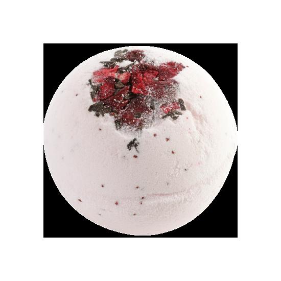 Musująca kula do kąpieli CIASTO Z WIŚNIAMI Bomb Cosmetics