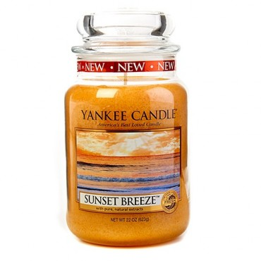 Duża świeca Sunset Breeze Yankee Candle