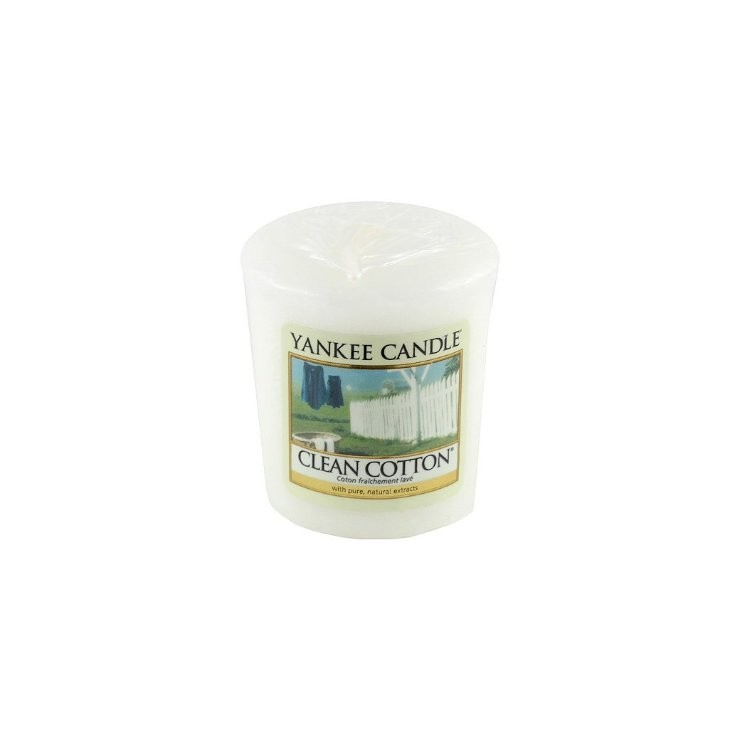 Sampler Clean Cotton Yankee Candle