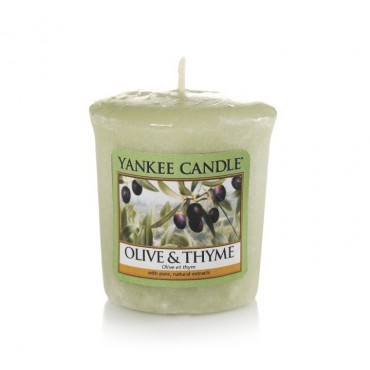 Sampler Olive & Thyme Yankee Candle