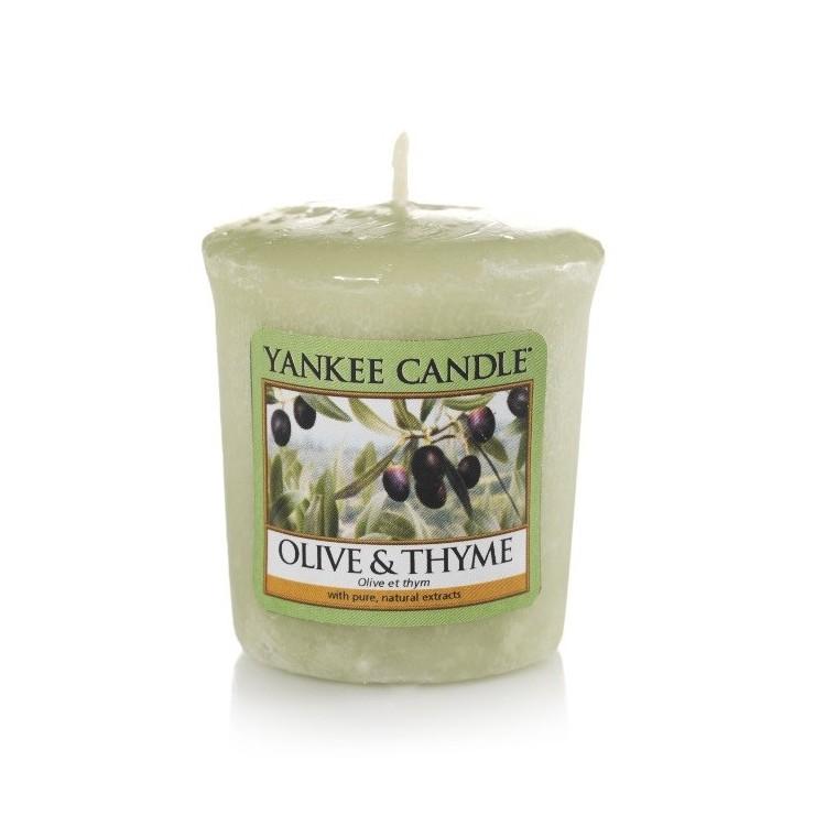Sampler Olive & Thyme Yankee Candle