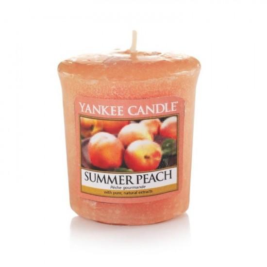 Sampler Summer Peach Yankee Candle