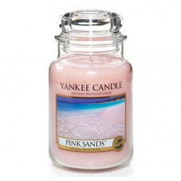 Duża świeca Pink Sands Yankee Candle