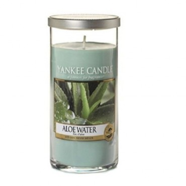 Duży pilar Aloe Water Yankee Candle