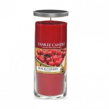 Duży pilar Black Cherry Yankee Candle