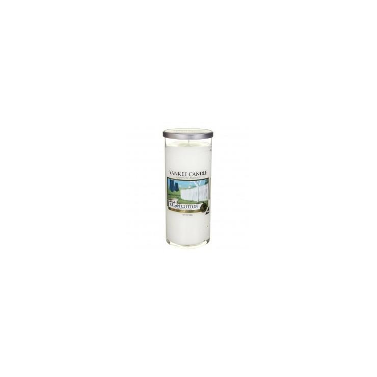 Duży pilar Clean Cotton Yankee Candle