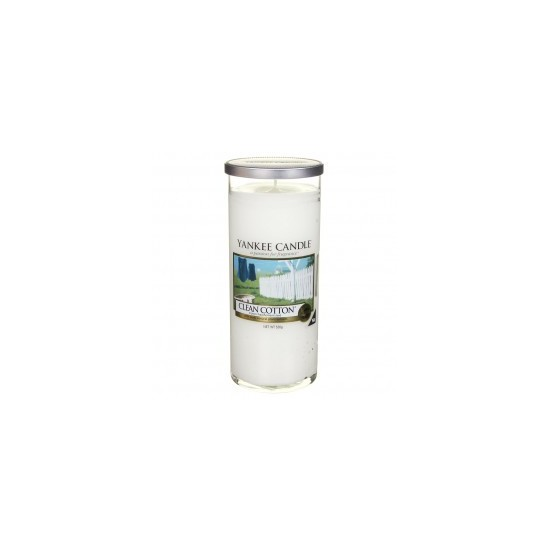 Duży pilar Clean Cotton Yankee Candle