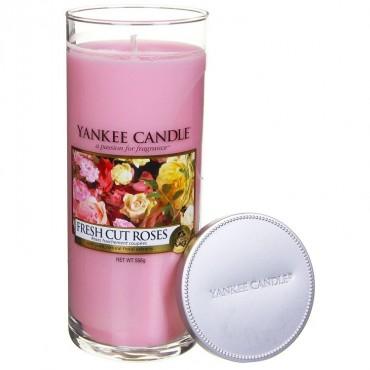 Duży pilar Fresh Cut Roses Yankee Candle