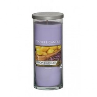 Duży pilar Lemon Lavender Yankee Candle