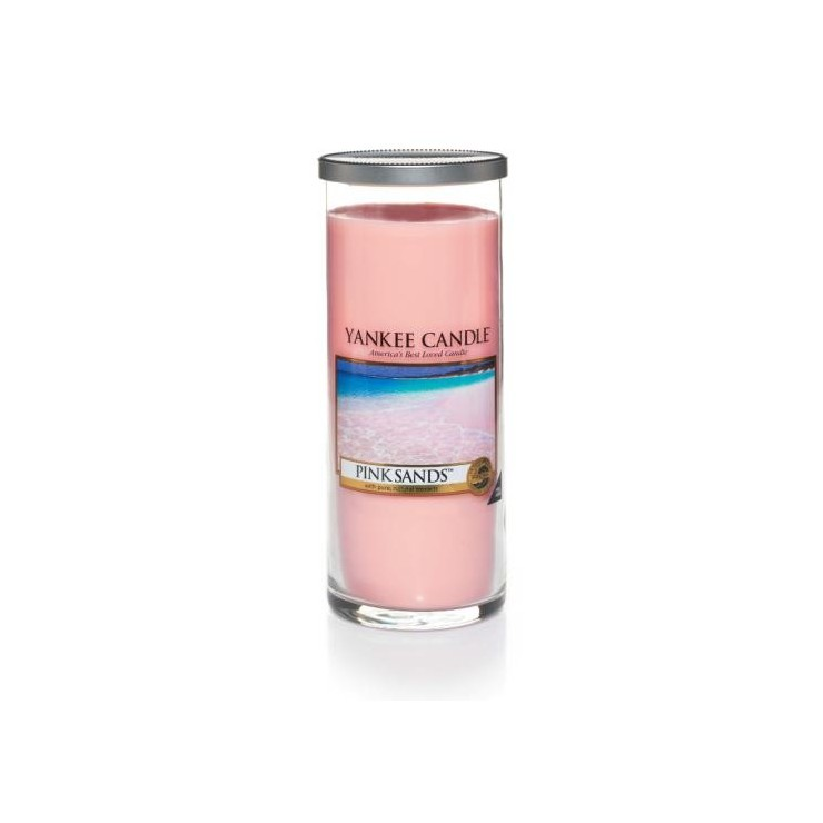 Duży pilar Pink Sands Yankee Candle