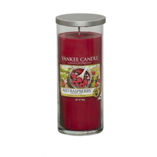 Duży pilar Red Raspberry Yankee Candle