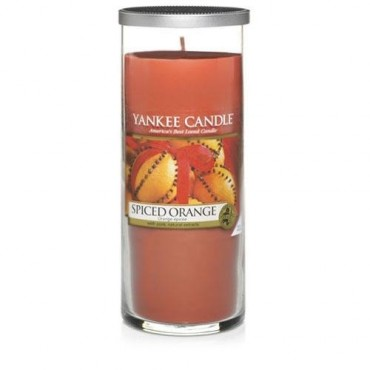 Duży pillar Spiced Orange Yankee Candle