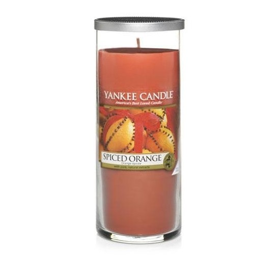 Duży pillar Spiced Orange Yankee Candle