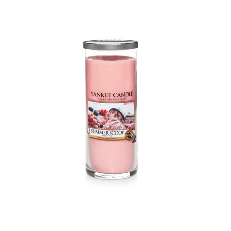 Duży pilar Summer Scoop Yankee Candle